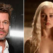 "Game of Thrones: Brad Pitt ofrece 120 mil dólares por una ""cita"" con Emilia Clarke [VIDEO]"