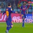 YouTube: Lionel Messi sacó su furia contra Yerry Mina y lo recriminó así en pleno partido [VIDEO]