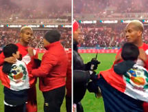 Perú vs. Islandia: La noble reacción de André Carrillo con un niño que quería saludarlo [VIDEO]