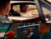 "Fortnite recrea escena final de ""Fast and Furious"" en honor a Paul Walker y se hace viral"