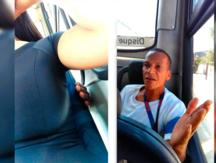 Facebook: Mujer exhibe a hombre que intentaba tocar su busto en transporte público [VIDEO] [FOTOS]