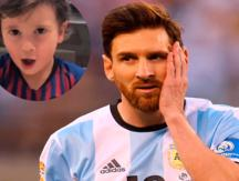 Lionel Messi: Su hijo mayor es protagonista del viral del momento por inesperado final [VIDEO]