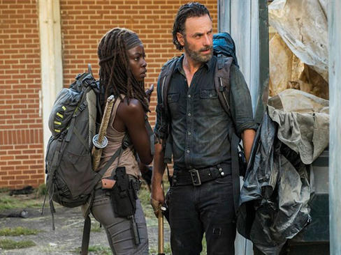 The Walking Dead: Revelan escena eliminada del final de la 7ma temporada